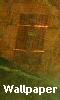 Petite image abstraite - orange et vert - fond d'écran