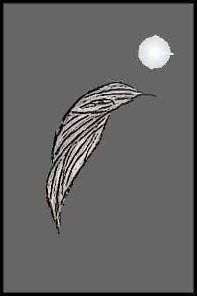 Petit dessin d'un esprit de Lune.