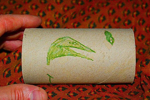 Photo d'un gribouillis - Une gueule verte