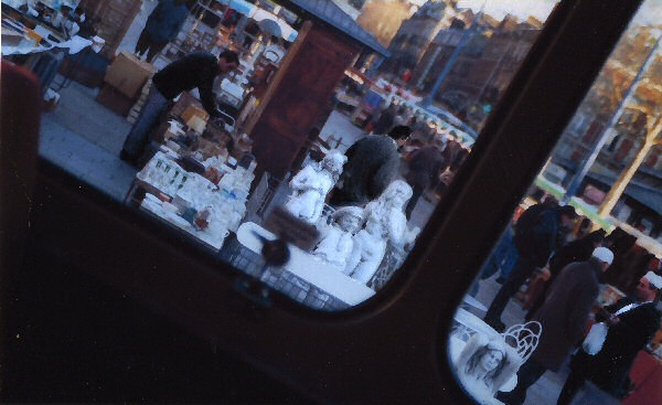 Photo sur le marché de Rouen.