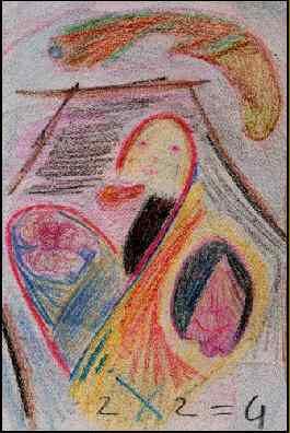 dessin sur l'amour : Unefélation
