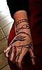 Avatar de la main aux doigts pliés